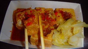 stinky tofu... no exaggeration