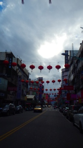 getting ready for Chinese new year