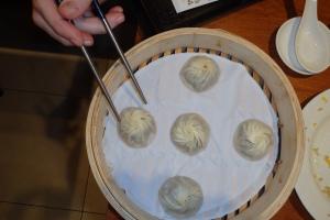 pork and truffle dumplings!