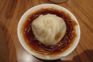 Xiao Long Bao in Vinegar and Soy sauce
